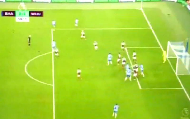 Izquierdo flitst en maakt wereldgoal in Premier League (Video)