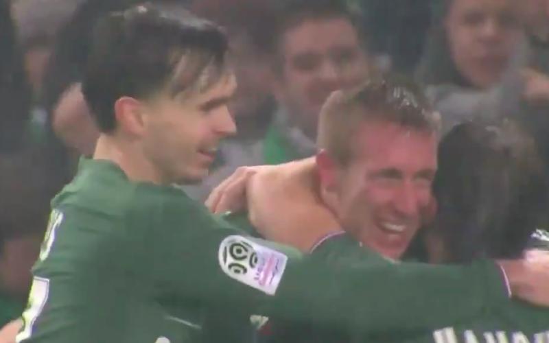 En plots doet Anderlecht-flop Beric dit bij Saint-Etienne (Video)
