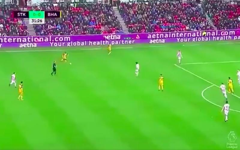 Izquierdo maakt opnieuw fantastische goal in Premier League (Video)