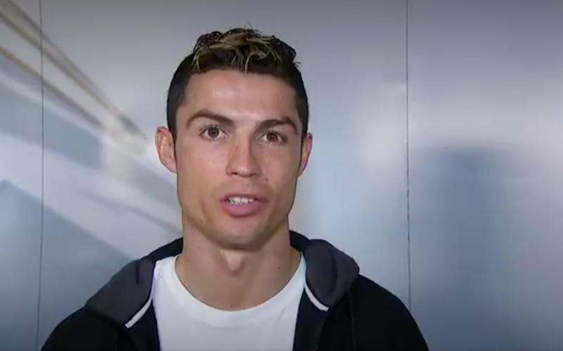 Ronaldo komt net voor Real-PSG met opmerkelijke videoboodschap naar buiten