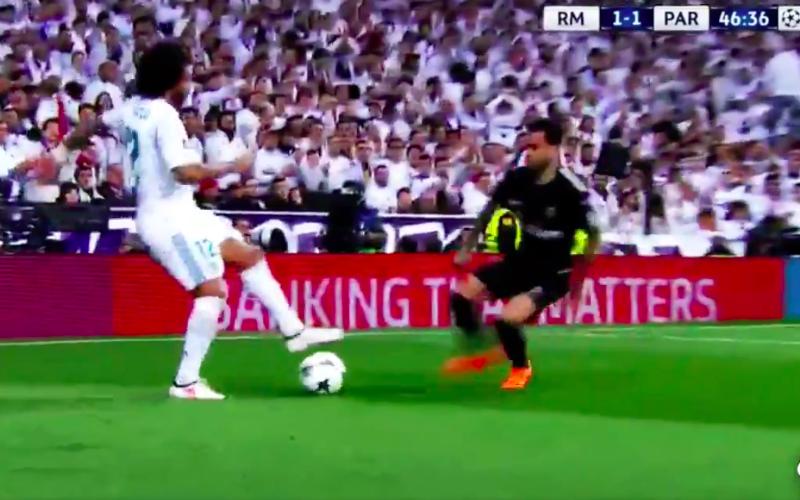 Marcelo maakt Dani Alves gewoon belachelijk (Video)