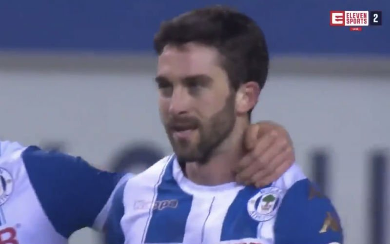 Zo knalde Will Grigg Man City uit de FA Cup (Video)