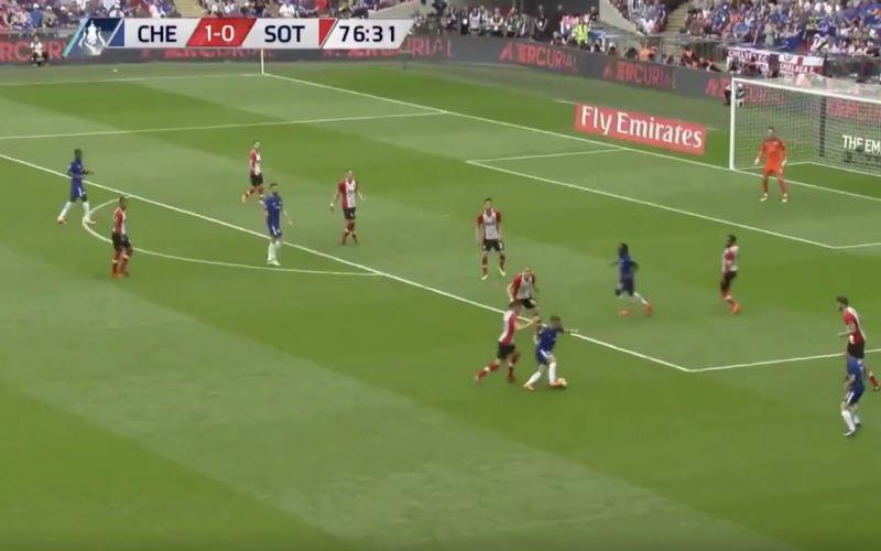 Hazard doet eindelijk nog eens een Hazardke (Video)