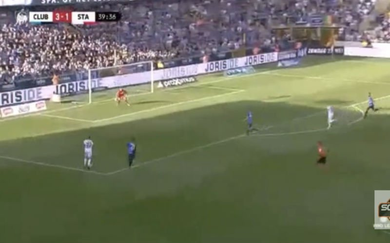 Edmilson krijgt Jan Breydel stil met prachtig doelpunt (Video)