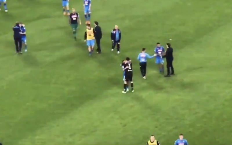 RESPECT! Dit doet Buffon na nederlaag tegen Napoli (Video)