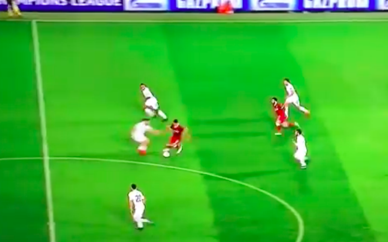 Bewijst Salah hier dat hij de snelste speler ter wereld is? (Video)