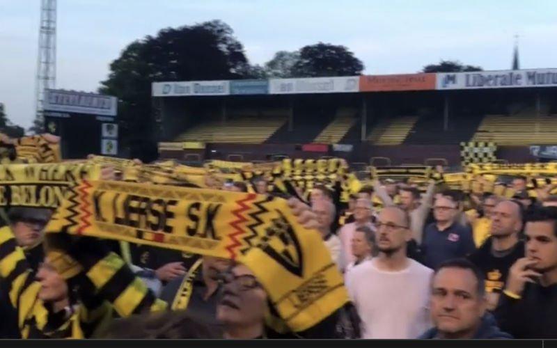 Kippenvel! Lierse-fans nemen afscheid van hun 'Lierke Plezierke' (Video)