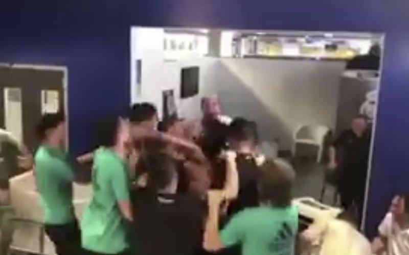 Zo vader zo zoon! Zoon Marcelo zet kleedkamer Madrid op stelten (Video)