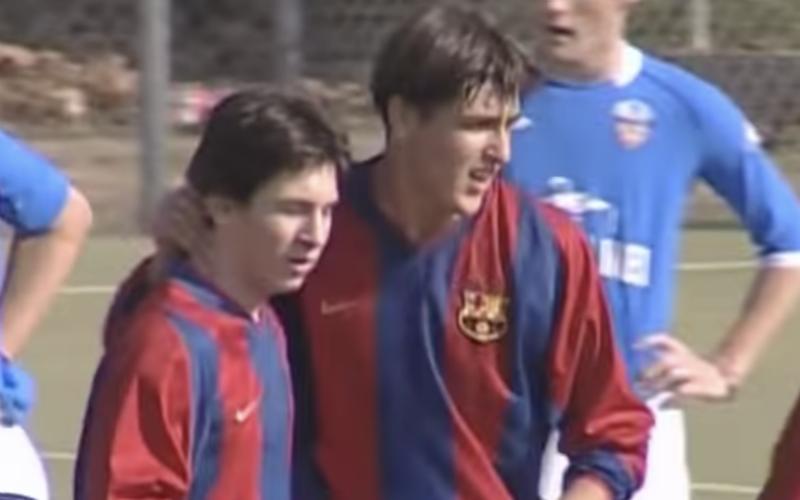 Deze nooit eerder vertoonde beelden van 16-jarige Messi zijn... Geniaal