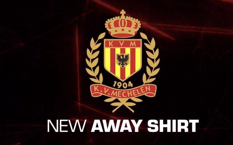 KV Mechelen stelt in één klap twee nieuwe uitshirts voor (Video)