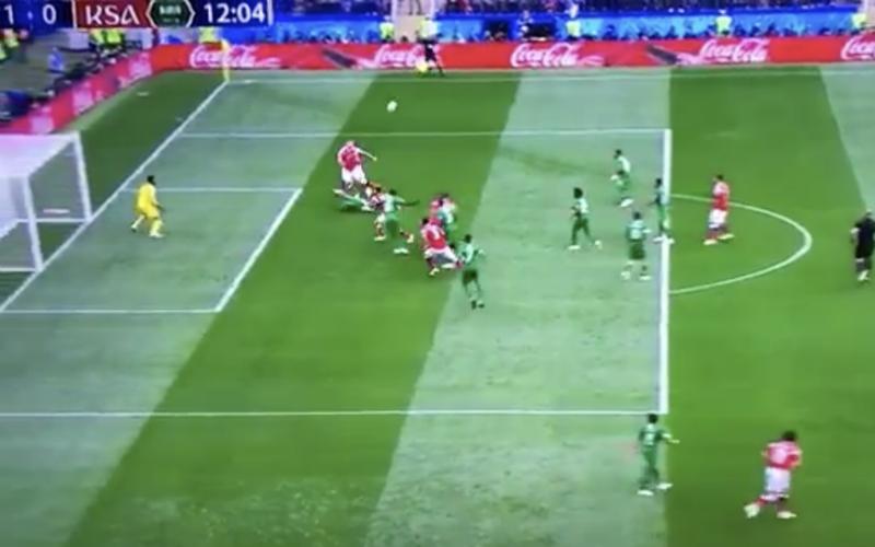 Eerste doelpunt op het WK zorgt meteen voor discussie (Video)