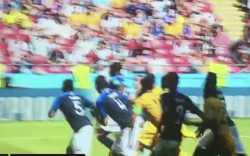Tekent Samuel Umtiti hier nu al voor de domste actie van het WK? (Video)