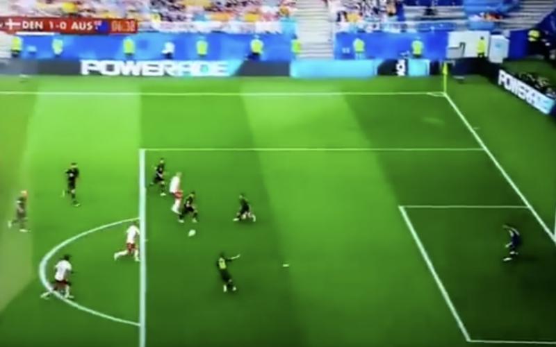 Christian Eriksen pakt tegen Australië uit met een pareltje (Video)