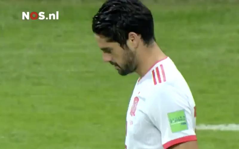 Niemand zag het: Isco pakte tegen Iran uit met dé actie van dit WK (Video)