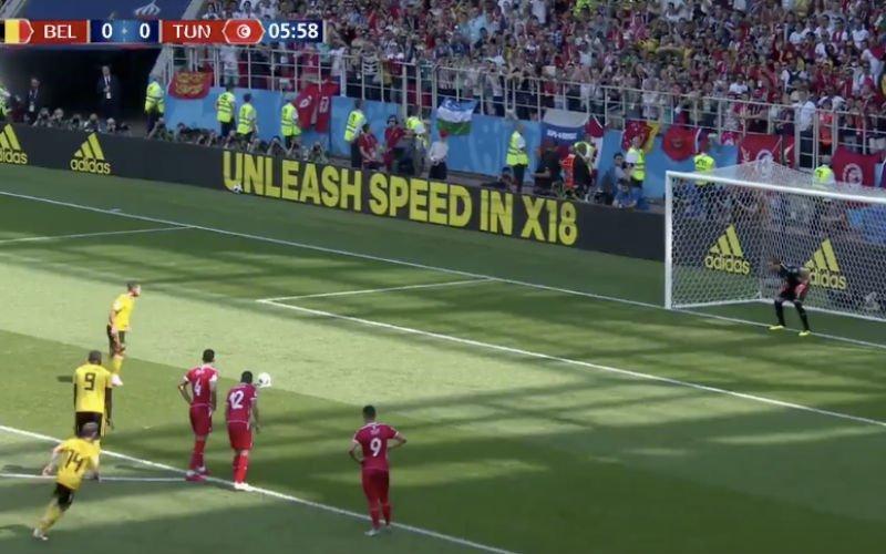 Hazard brengt Rode Duivels helemaal zelf op voorsprong na 5 minuten (Video)