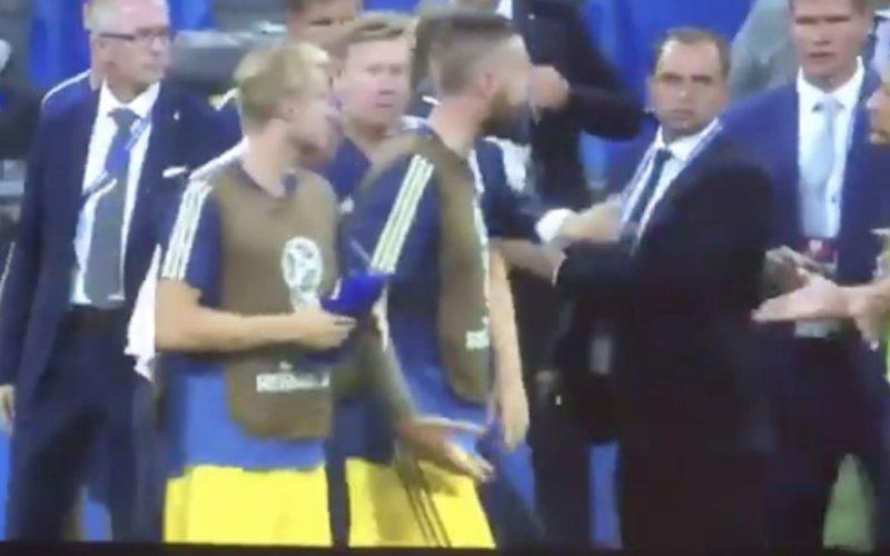 Gemoederen laaien hoog op bij Zweden en Duitsers na goal Kroos (Video)