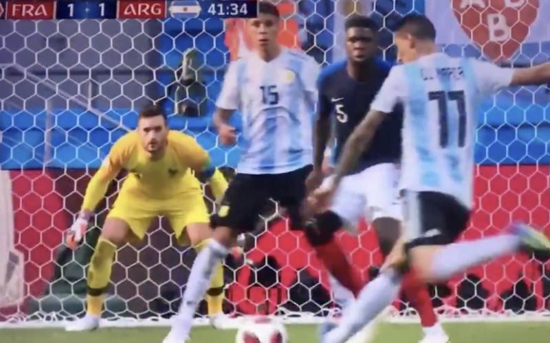 Di Maria maakt geweldig doelpunt tegen Frankrijk (Video)