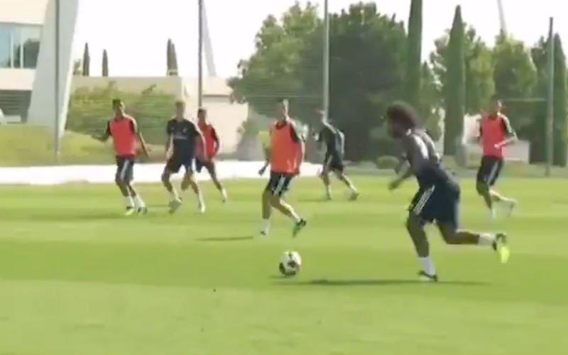 Marcelo tovert weer iets geniaals uit zijn sloffen bij Real Madrid