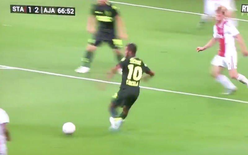 Carcela brengt de spanning terug in de wedstrijd met héérlijke goal
