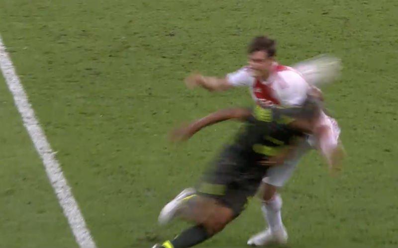 Mehdi Carcela liep lelijke blessure op tegen Ajax