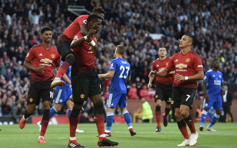 Man United start met zege ondanks grote misser Lukaku