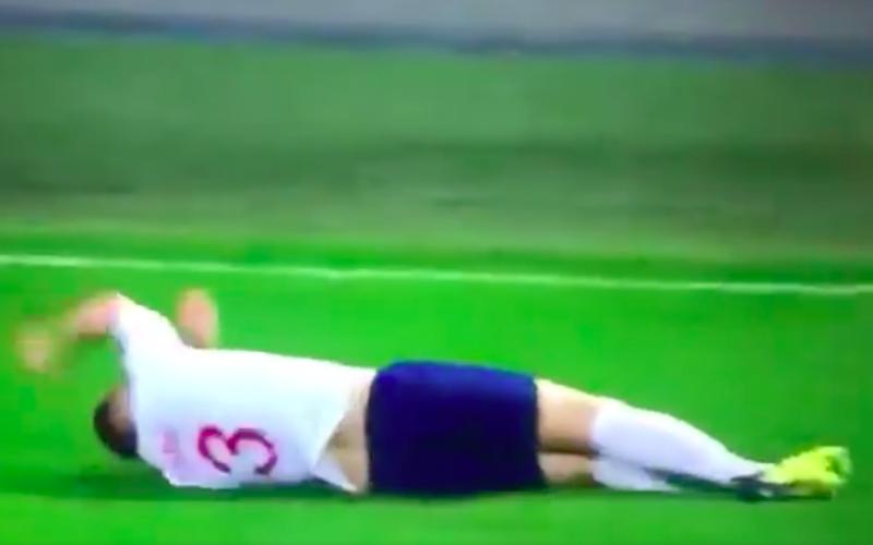 Luke Shaw loopt verschrikkelijke blessure op tijdens Engeland-Spanje