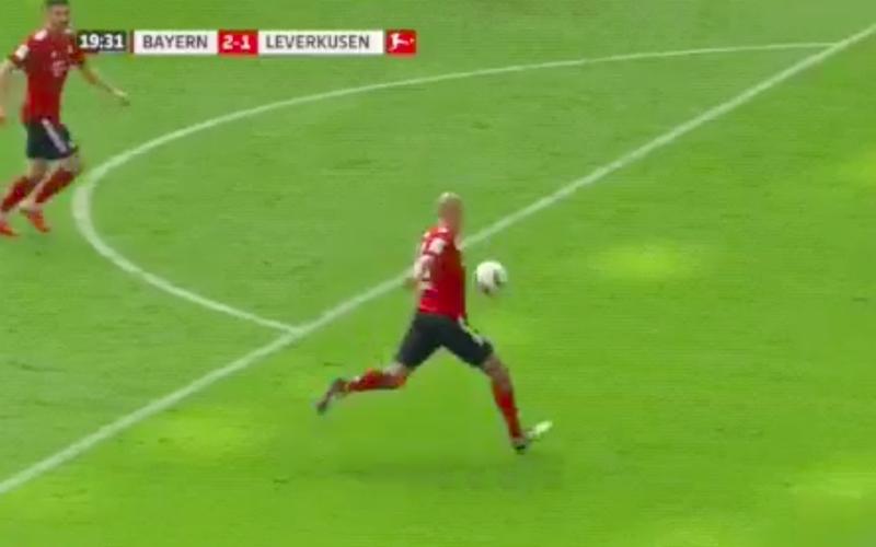Héérlijke raket van Robben helpt Bayern München aan zege