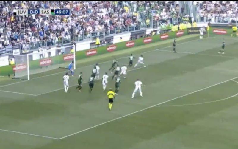 't Is gebeurd! Ronaldo legt zijn eerste in het mandje voor Juventus