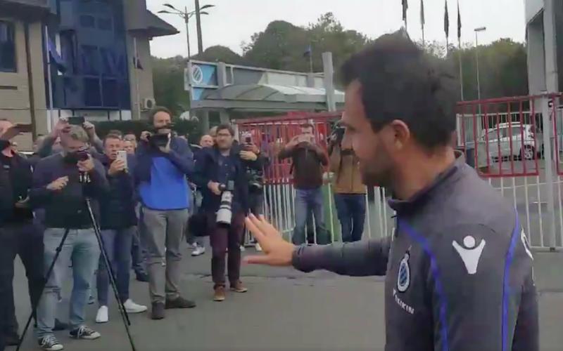 Kippenvel: zo verwelkomen Club Brugge-fans Ivan Leko op training (Video)