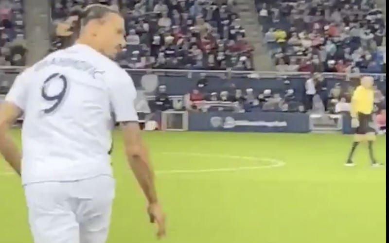 Zlatan beëindigt carrière van tegenstander en kijkt dan achterna hoe het met hem gaat (VIDEO)