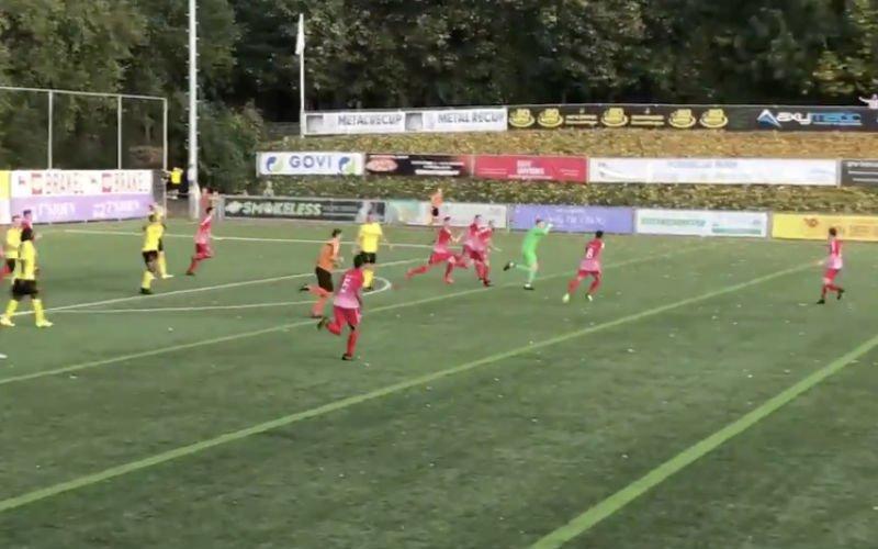 Doelman Kevin Frans bezorgt RC Gent op schitterende wijze nog een gelijkspel (VIDEO)