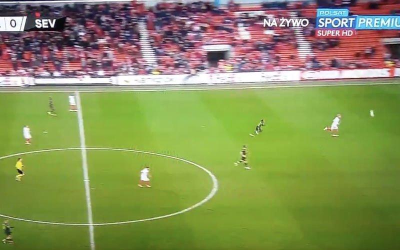 Ongelooflijke actie van Standard tegen Sevilla gaat viraal (VIDEO)