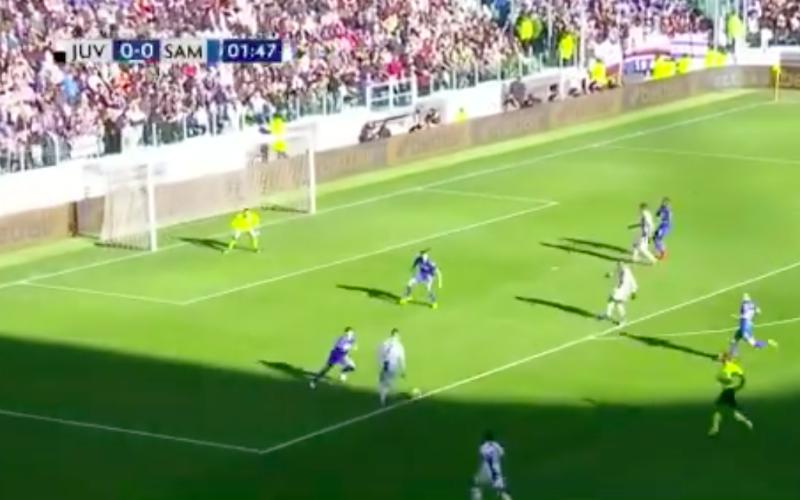 Ronaldo wordt dankzij dit pareltje topschutter in Serie A (Video)