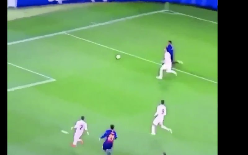 Nelson Semedo beëindigt carrière van Sergio Ramos (VIDEO)