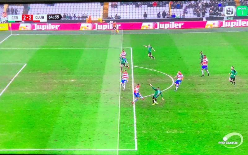 Géén buitenspel bij fel besproken goal van Cercle Brugge, dit is waarom