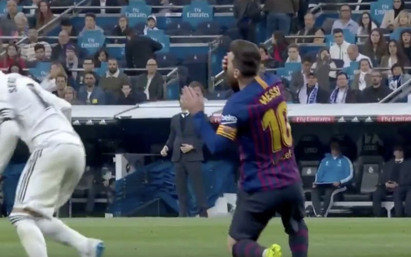 Sergio Ramos slaat weer toe, Messi is razend (VIDEO)