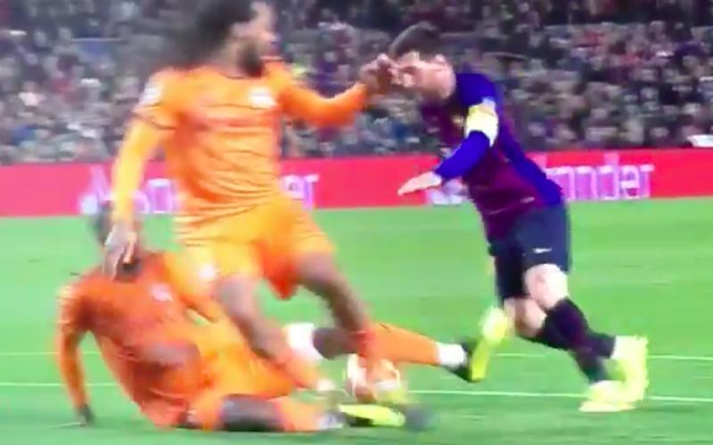 Messi maakt héérlijk doelpunt bij Barça: