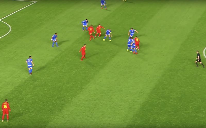 En plots deed Eden Hazard dít tijdens Cyprus-België (VIDEO)