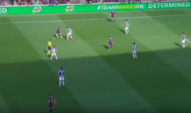 Lionel Messi maakt tegenstander compleet belachelijk (VIDEO)