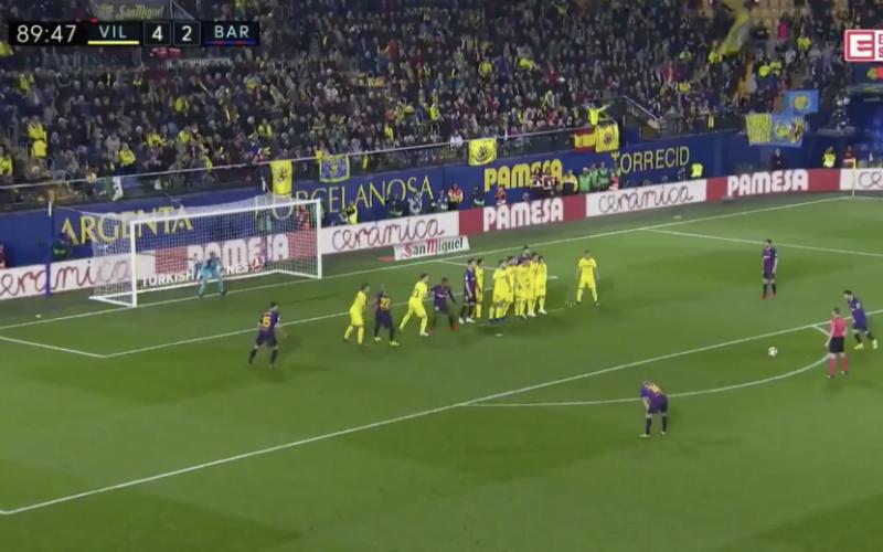 Messi en Suarez maken waanzinnige goals in blessuretijd (VIDEO)