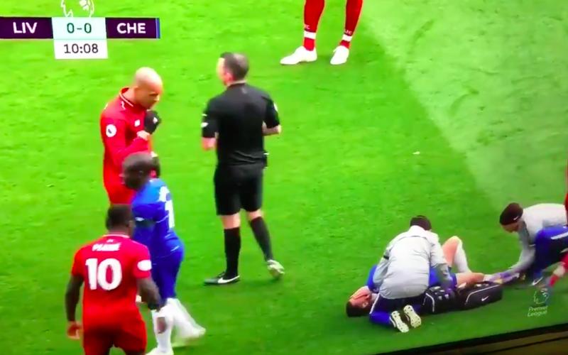 Eden Hazard slachtoffer van werkelijk degoutante actie (VIDEO)