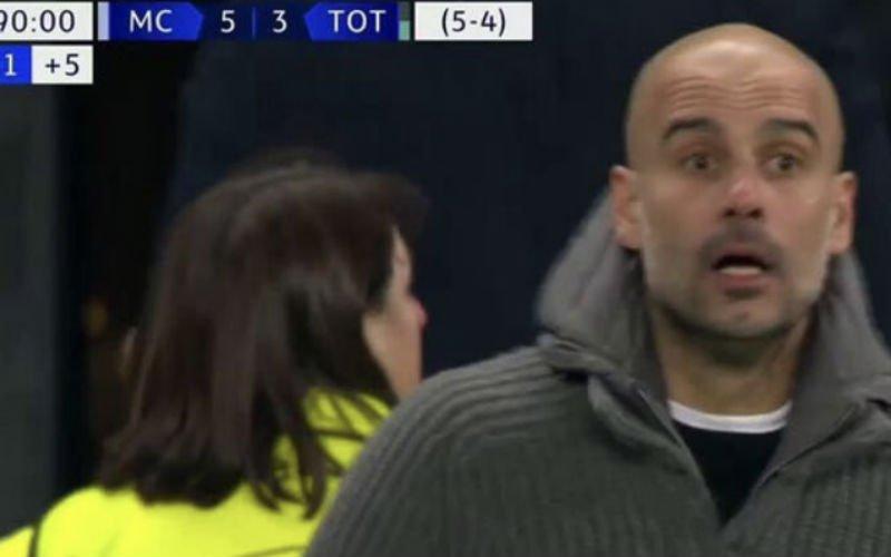Reactie van Guardiola na afgekeurde goal breekt je hart (VIDEO)