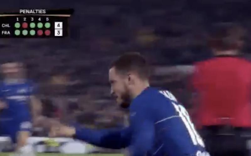 Eden Hazard etaleert vlak na zege tegen Frankfürt zijn grote klasse (VIDEO)