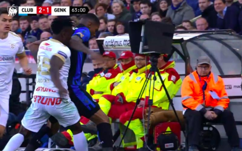 Club-fans komen met bewijs dat Aidoo (en niét Wesley) rood verdiende (VIDEO)