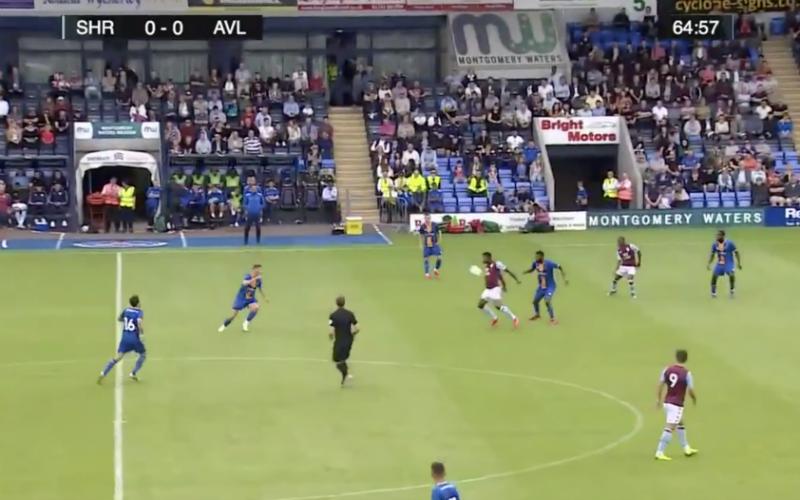 Wesley Moraes laat meteen van zich spreken bij Aston Villa (VIDEO)