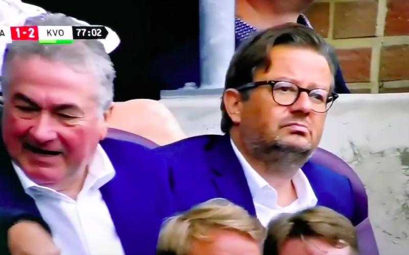 Deze beelden van Marc Coucke tijdens Anderlecht-KVO gaan viraal (VIDEO)