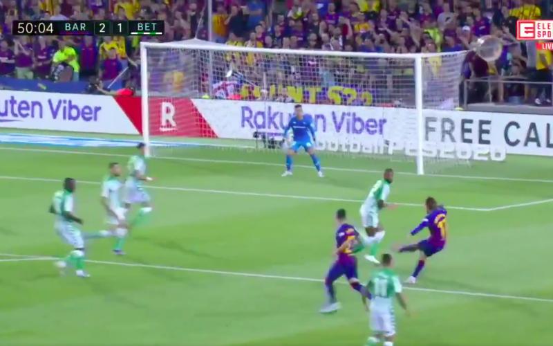 Griezmann scoort 2 keer bij Barça... En kijk hoe hij viert (VIDEO)