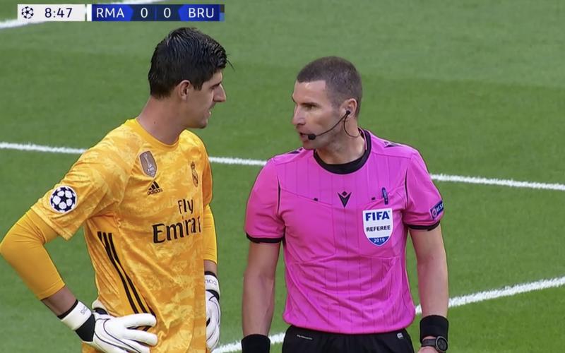 Courtois uitgelachen en afgemaakt voor deze actie tegen Club Brugge (VIDEO)