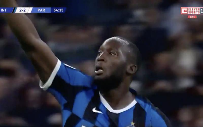 Lukaku uitgejouwd door Inter-fans, maar kijk wat hij dan doet (VIDEO)