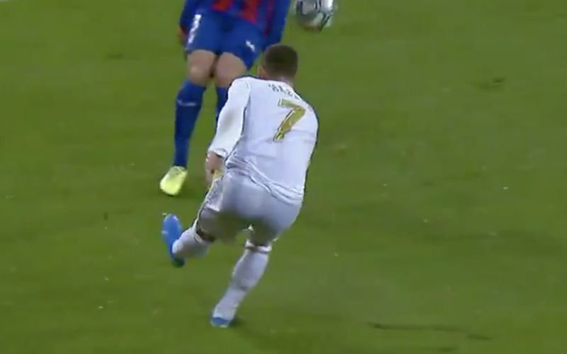 Eden Hazard speelt plots alles kapot bij Real Madrid (VIDEO)